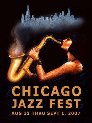 Chicago Jazz Fest Poster