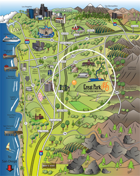 Great Park Map