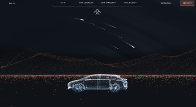Faraday Future Website